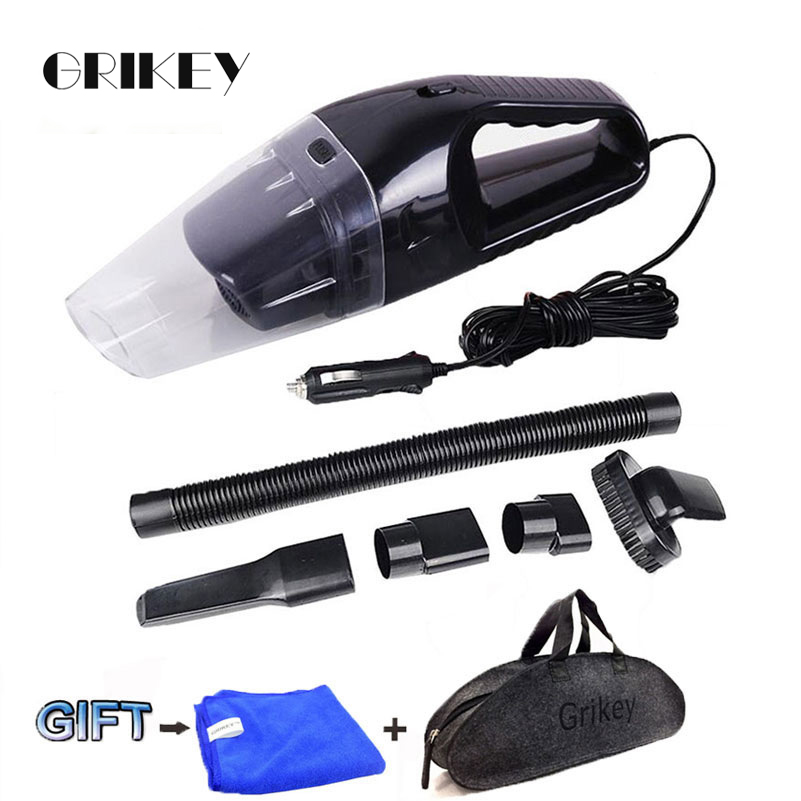 Pembersih Vakum Kereta 120W Portable Vacuum Handheld Vacuum Cleaner Wet dan Dry Dual Use Car Vacuum Aspirateur Voiture 12V