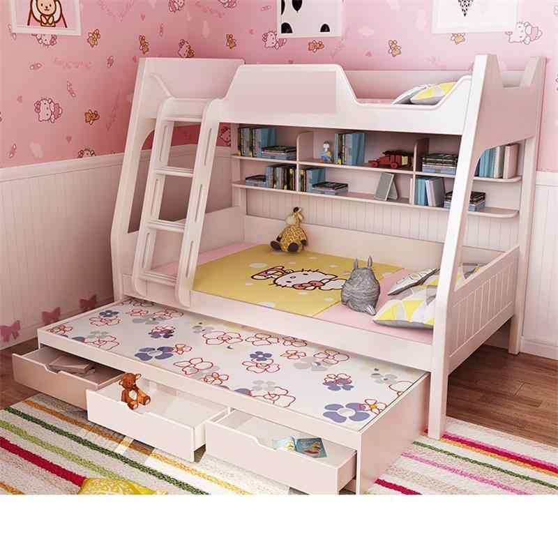 Комната Современная Infantil Одиночная детская рамка Matrimonio Quarto mobito De Dormitorio Mueble Cama спальня мебель двойная двухъярусная кровать