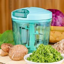 Мощный Ручной измельчитель для пищевых овощей спиральный слайсер измельчитель дробилка чеснок кухонный нож ручной кухонный инструмент