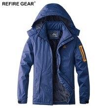 Refire Gear Men Women Winter Fleece Warm Jacket Thick Outdoor Sport Waterproof Windbreaker Hiking Camping Trekking Skiing Jacket недорого