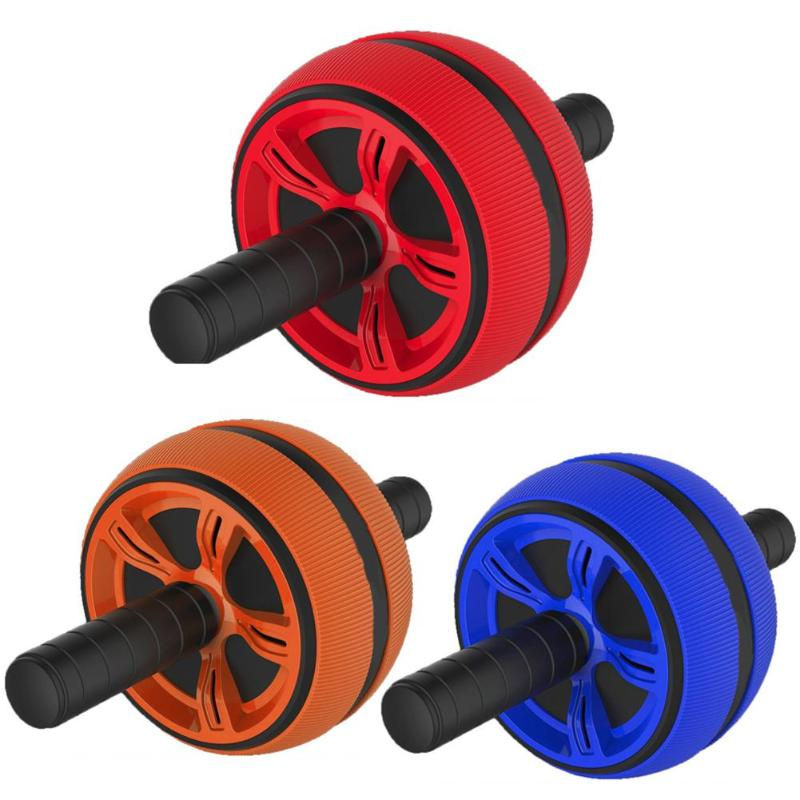 No Noise Abdominal Wheel Ab Roller Trainer Fitness Equipment Gym Exercise Men Body Building 3 ColorsNo Noise Abdominal Wheel Ab Roller Trainer Fitness Equipment Gym Exercise Men Body Building 3 Colors
