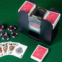 Hot Sale Casino Automatic Poker Card Shuffler Battery Operated Casino Game Playing Cards Shuffling Machine Advanced Casino Robot