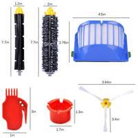 Peças de reposição para iRobot Roomba Série 600 595 614 620 650 652 671 675 680 690 Aspirador de pó Robótico|Peças p/ aspirador de pó| |  -