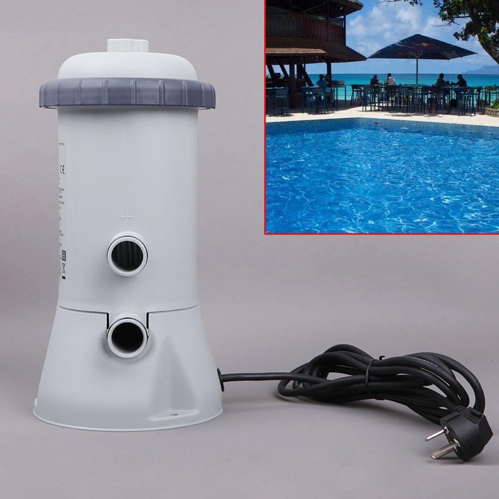 1000GAL 220 V pompe de filtration Outils Pour Intex Piscine Rapide Sol cadre en acier - 4