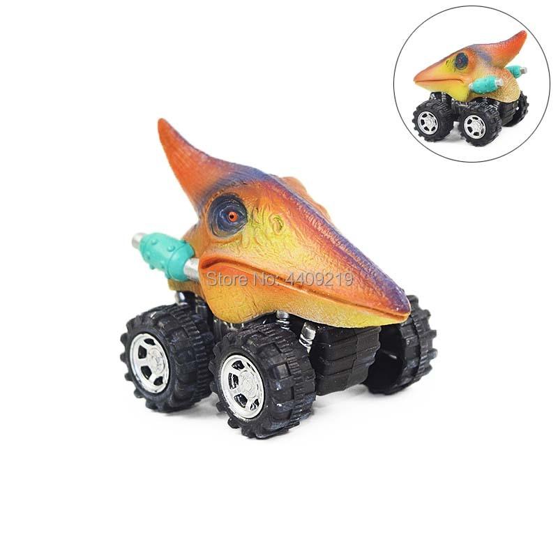 6 Arten Dinosaurier Tyrannosaurus Tatankacephalus Dilophosaurus - Druckguss- und Spielzeugfahrzeuge - Foto 2