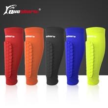 2 шт. Спортивные щитки для футбола, компрессионные гетры для голени, велосипедные гетры для тренировок, скалолазания, Защита ног
