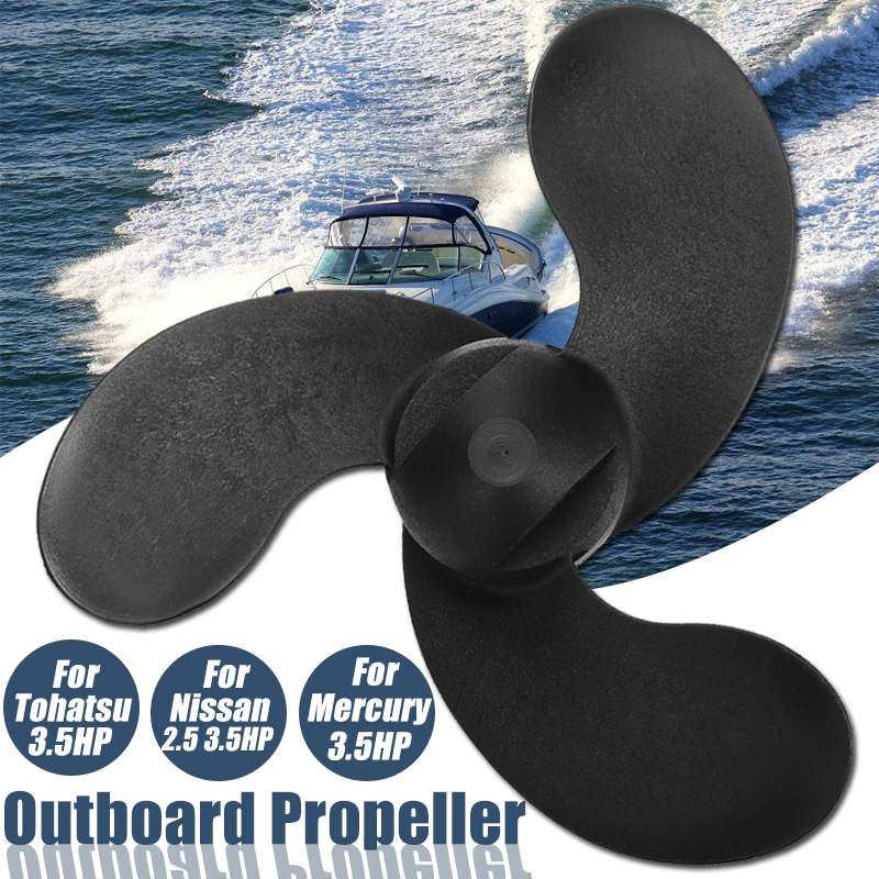 Boat Engine Outboard Propeller Marine For Tohatsu 3.5HP Nissans 2.5 3.5HP Mercurys 3.5HP-in Boat Engine from Automobiles & Motorcycles