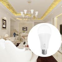 LED ZIGBEE 12W RGB+CCT Bulb AC100 240V RGB And Dual White 2700 6500K LED Bulb Compatible With Mazon Echo Plus With ZigBee