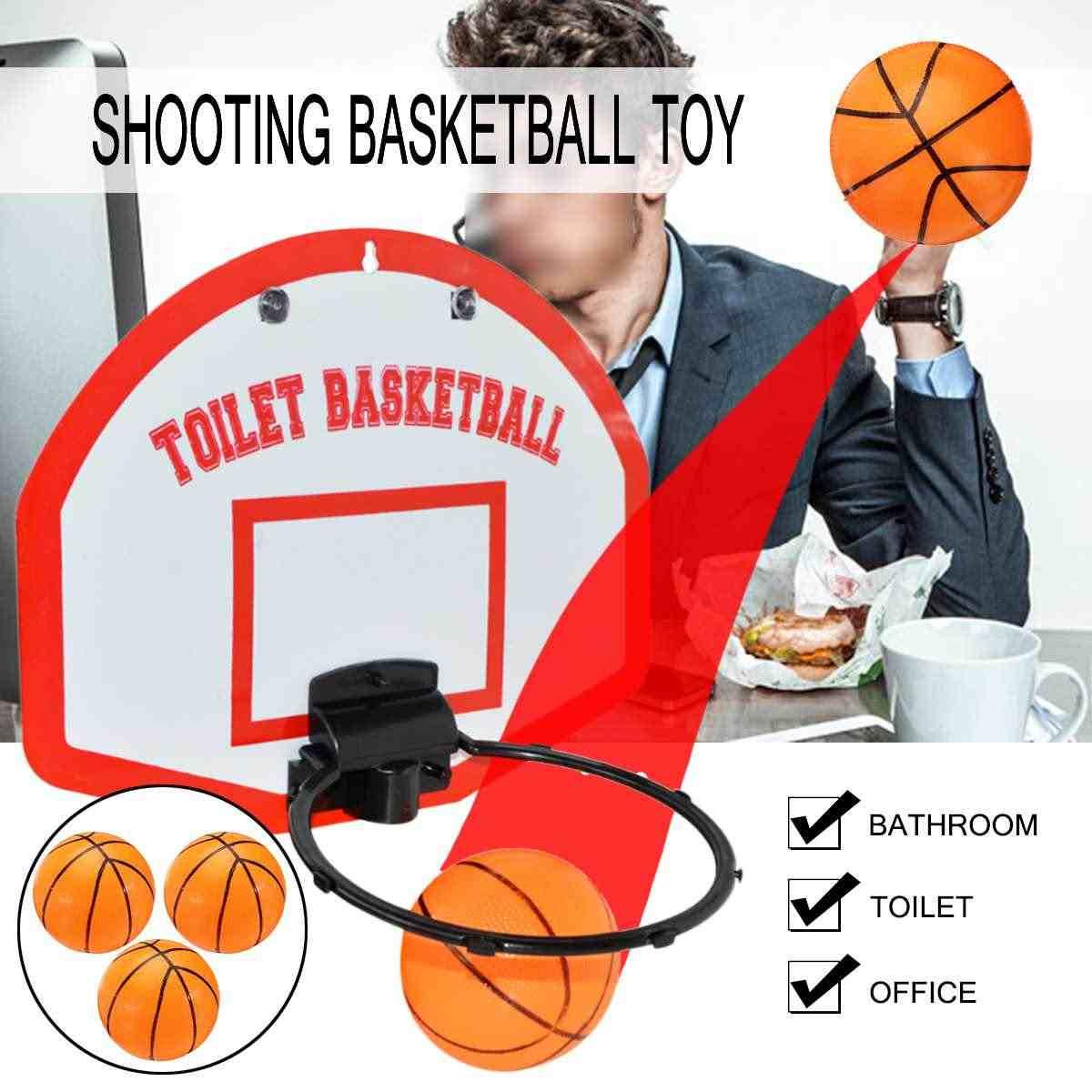 Tabela De Basquete Mini Hoop Net Set Com Bola De Basquete Para Crianças Presente da Criança Brinquedo Jogo de Esportes Indoor Wall Mount