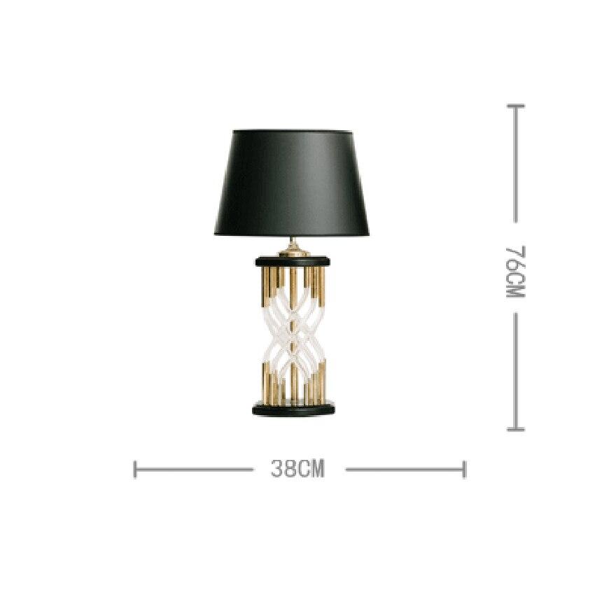 Nordic Стекло настольная Светодиодная лампа американский дизайнер модель номер Гостиная Спальня исследование Lmaps декоративная настольная ла