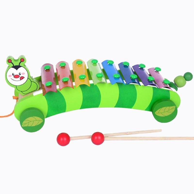 100% Waar Muziek Instrument Speelgoed Houten Frame Stijl Xylofoon Kinderen Kids Musical Grappig Speelgoed Baby Educatief Speelgoed Geschenken Goede Warmteconservering