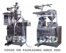 High quality shampoo sachet packing machine 3 and 4 side sealing in one adjust