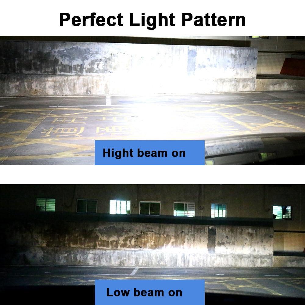 Image 5 - Mdatt Super Bright H7 H4 LED Car headlights Canbus ZES Headlight Bulb 110W 11000LM H1 9005 9006 H8 H9 6000K 12V Auto light-in Car Headlight Bulbs(LED) from Automobiles & Motorcycles