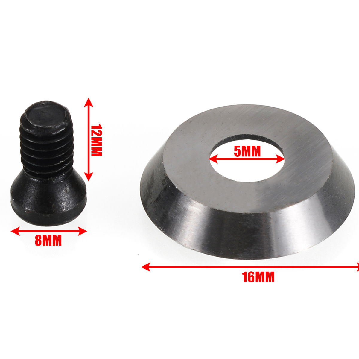 Round Carbide Insert 16mm 16x3-30 Degree Carbide Insert Cutter Finisher Wood Turning Lathe Tool For Wooden Cutting Machine Tools