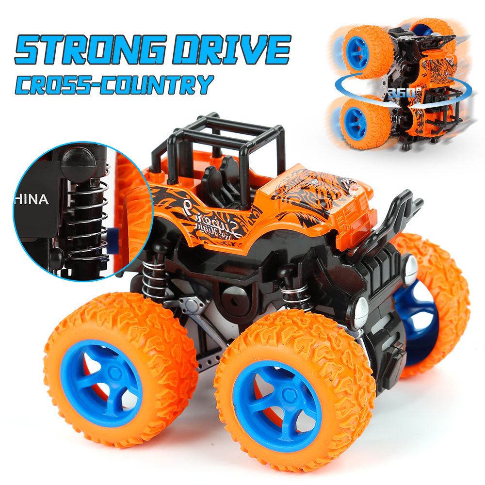 Inertia Four-Wheel-Drive Off-Road Vehicle Children Simulation Model Car Anti-Shatterproof Toy Car Baby Car Model