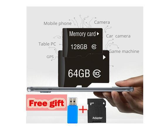 Micro SD Card 128GB C10 32GB 256GB microsd sd 4GB 8GB 16GB TF cards 32 gb Memory stick 64 gb 128GB flash card carte sd-in Memory Cards from Computer & Office