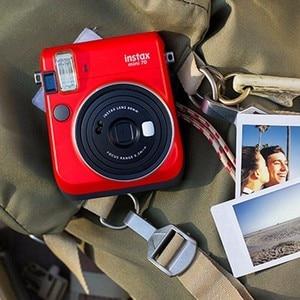 Image 4 - 6 couleurs Fujifilm Instax Mini 70 Photo instantanée appareil Photo instantané rouge noir bleu jaune blanc or