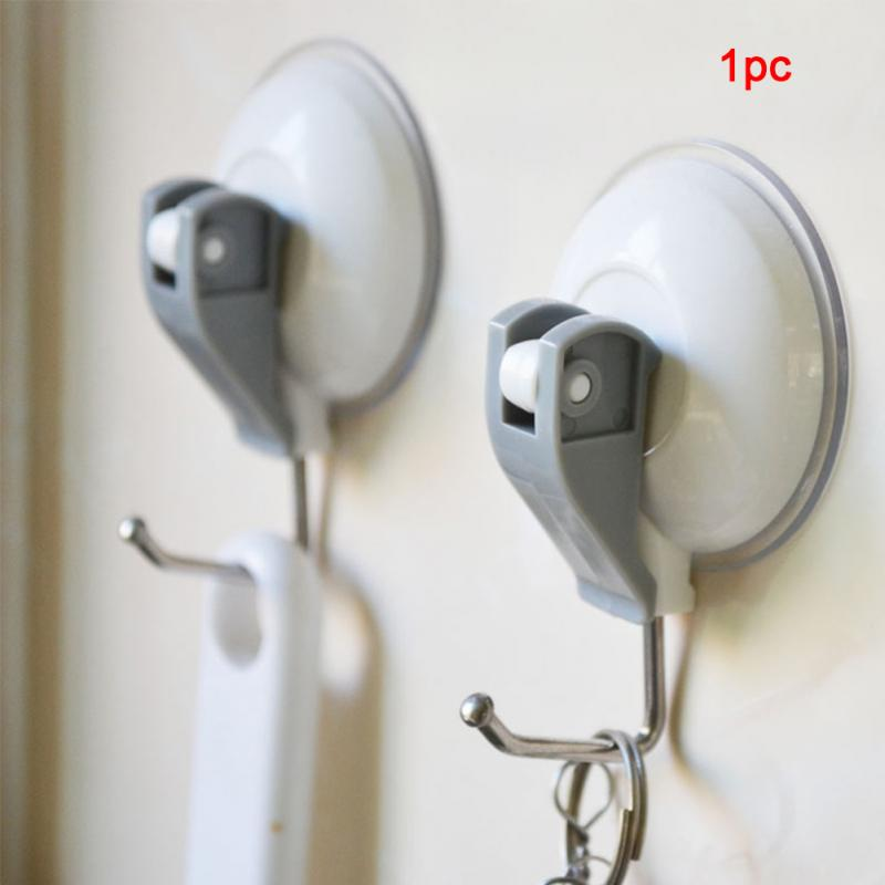 Household Powerful Suction Cup Kitchen Hooks For Towel Strong Adhesive Hooks Bathroom Wall Hooks Heavy Duty Vacuum Suction Hooks