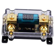 24V 100A Auto Audio Digital Breaker Sicherung Halter Verteilung Block mit LCD Display