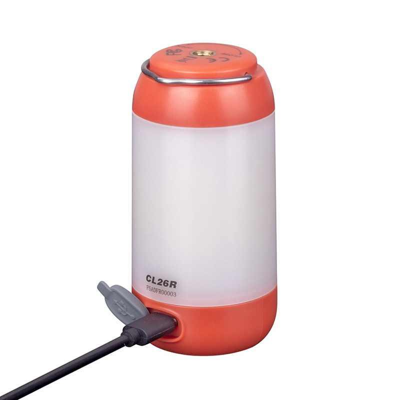 Новый Fenix CL26R High-performance Micro USB заряжаемый светильник для кемпинга с бесплатной батареей 18650 Li-on