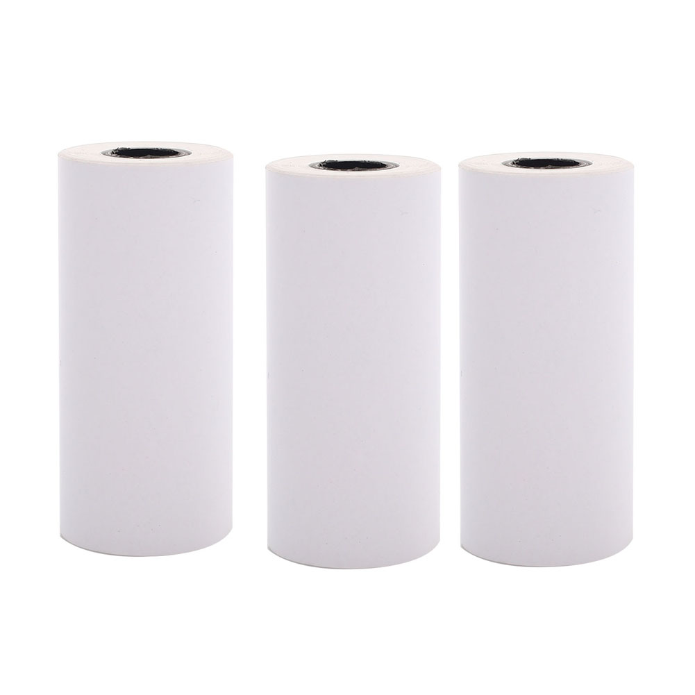 PPYY NEW -New 3Pcs 57X25Mm Self-Adhesive Printing Paper Adhesive Photo Printing For Memobird Gt1 Go G3