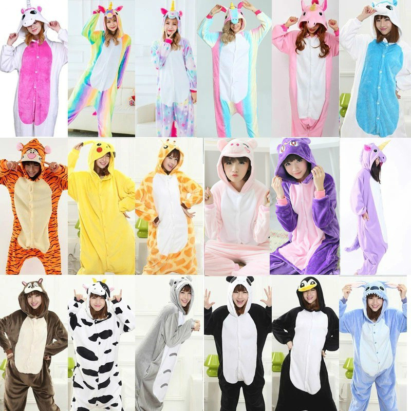Kigurumi Pajamas For Women Pyjamas Unicorn Anime Panda Onesie Pikachu Costume Boy Sleepwear Jumpsuit Kigurumi For Adult