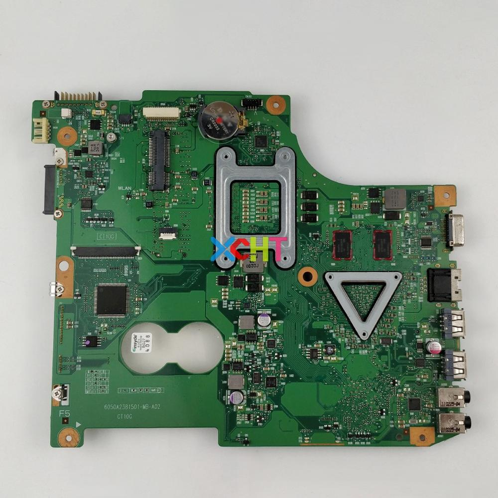 Image 2 - V000238030 6050A2381501 MB A02 w 216 0774009 GPU for Toshiba Satellite C600 Series Laptop NoteBook PC Motherboard Mainboard-in Laptop Motherboard from Computer & Office