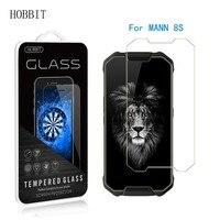 9H 0 3mm 2 5 D Transparent Gehärtetem Glas Screen Protector für MANN 8S Anti-scratch-Schutz Abdeckung klar Glas Film für Mann