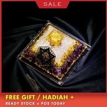 Constellation Customization Orgonite Pyramid Crystal Decoration Seven Chakras Powder Energy Tower Oro Tarot Astrology