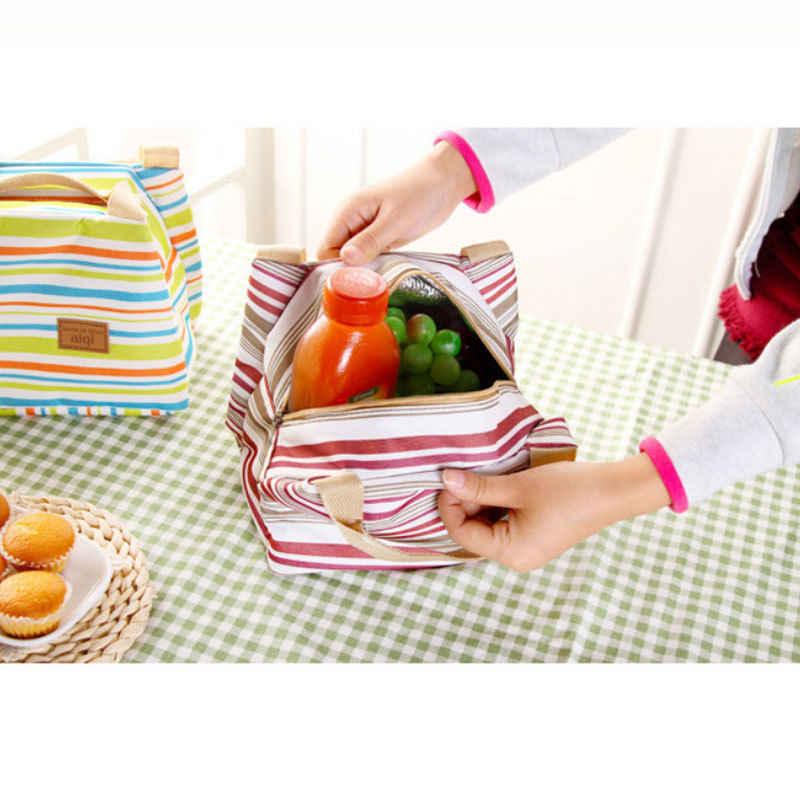 Isolados Saco Do Refrigerador Do Almoço Piquenique Caixa De Armazenamento De Trabalho Homens/Mulheres Caixa de Escola Dos Miúdos Escola Escritório Picnic Cooler Térmica Zip tote Carry