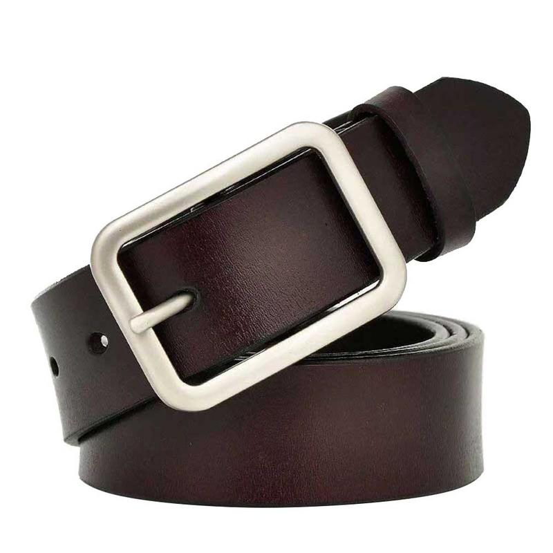 Impartial Japan Korean Buckle Belt Ladies Pu Leather Fashion Casual Wide Waist Belt Simple All-matched Jeans Unisex Harness Men Waistband