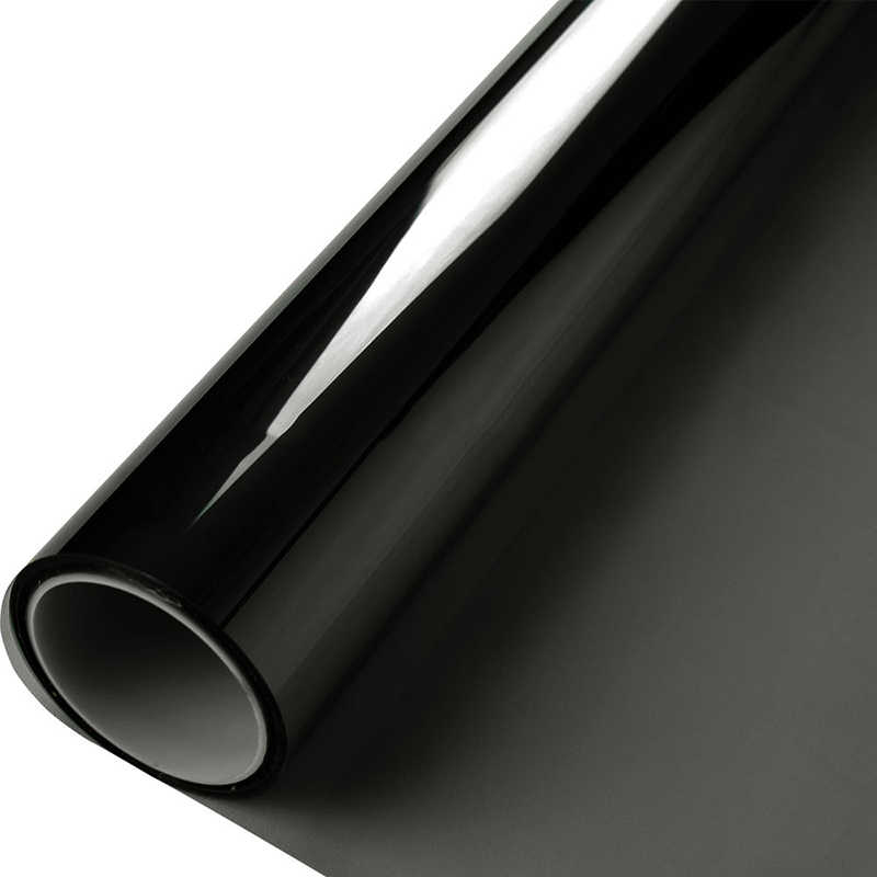 50 ซม.X 152 ซม.คุณภาพสูงทนความร้อน IR100 % รถแก้ว nano เซรามิคพลังงานแสงอาทิตย์หน้าต่างฟิล์ม