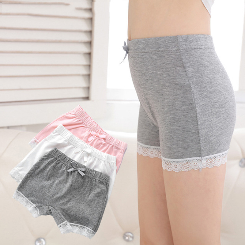 Open-Minded 3pcs/set Teen Panties Girl Underwear Girls Thong For Kids Panties For Teenage Girls Cotton Underwear Children Lace 4-16y Panties