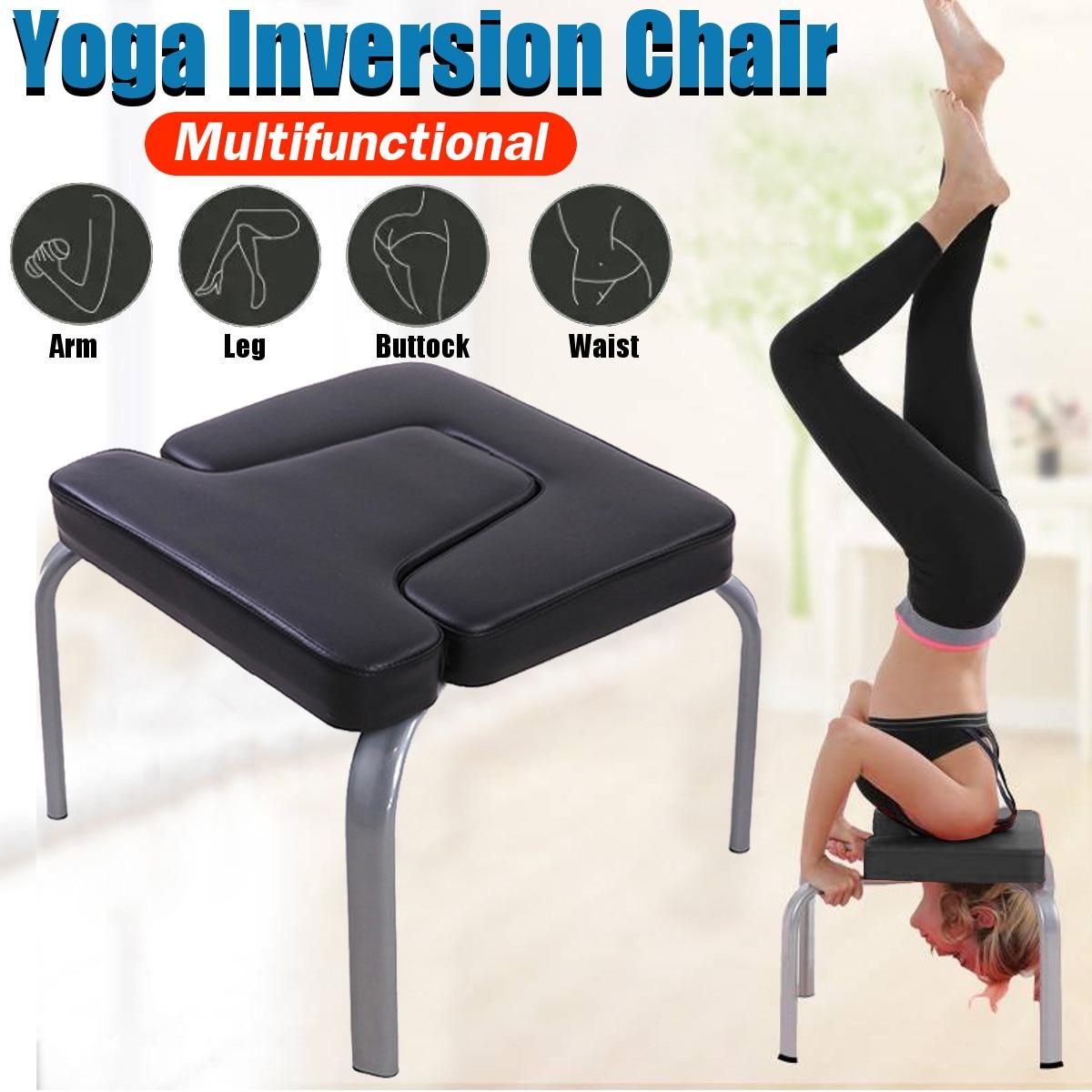 43*42*37 cm Yoga sida chaise d'entraînement tabouret tabouret multifonctionnel sport exercice banc équipement de Fitness noir
