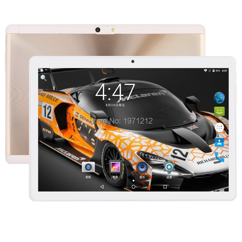 все цены на Super Edition Tempered 2.5D Glass 10 inch tablet Android 7.0 Octa Core 4GB RAM 64GB ROM 8 Cores 1280x800 IPS Screen Tablets 10.1 онлайн