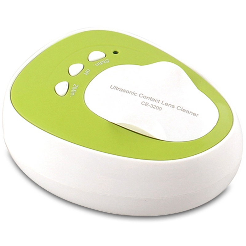 Household Portable Contact Lens Case Solution Mini Ultrasonic Cleaning Machine Washer Box Ultrasound Washing Bath-US PlugHousehold Portable Contact Lens Case Solution Mini Ultrasonic Cleaning Machine Washer Box Ultrasound Washing Bath-US Plug