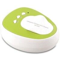 Huishoudelijke Draagbare Contact Lens Case Oplossing Mini Ultrasone Reiniging Machine Washer Box Ultrasound Wassen Bad-US Plug