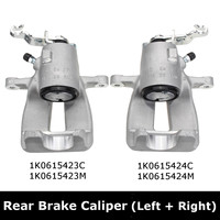 Brake Caliper Rear Left+Right For Audi A3 TT SEAT /SKODA For VW Eos Golf 5 6 Jetta TOURAN