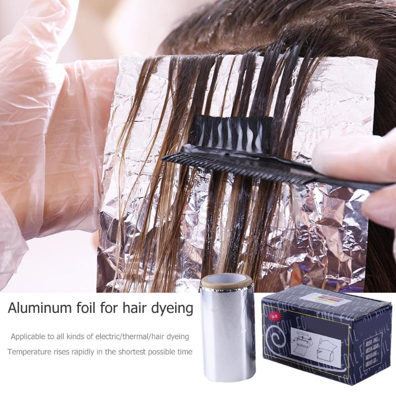 Pro Coloring Hairdressing Foil Roll Perm Tinfoil Hair Salon Beauty Supplies Hairdressing Supplies Barber Accessories