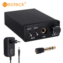 Neoteck 192kHz Digital to Analog Audio Converter with Headphone Amplifier 6.35mm Jack Audio Adapter Coaxial Toslink to RCA L/R