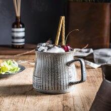 Керамическая чашка для молока в стиле ретро кофейная кружка