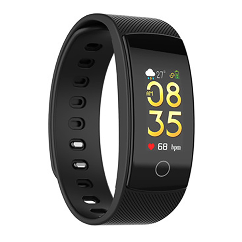 QS80plus Farbe Smart Armband Blutdruck Herz Rate Monitor Fitness Tracker Wasserdicht Smart Armband Band Für Android io