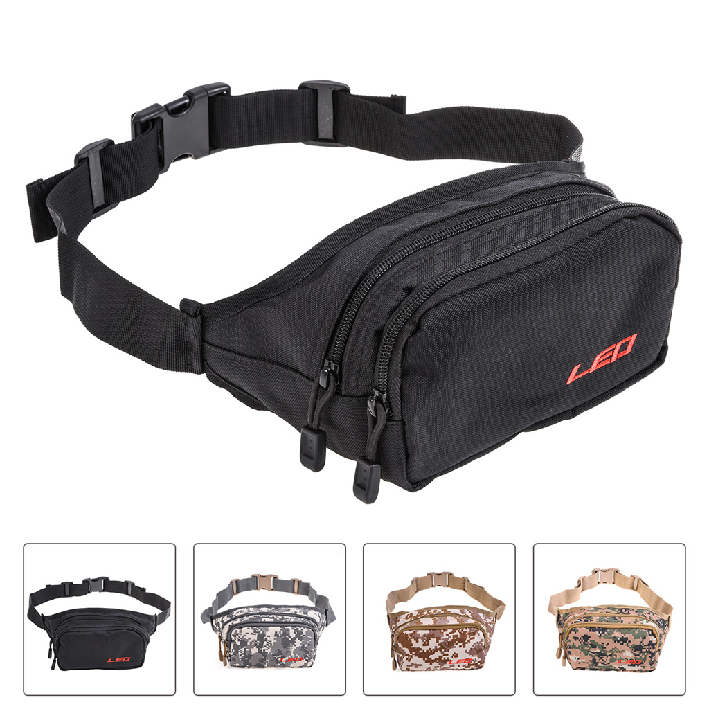 Fishing Bag Portable Outdoor Fishing Tackle Bags Multiple Waist Bag Fanny Pack For Daily Life Cycling Camping Hiking Hunting Reliable Performance