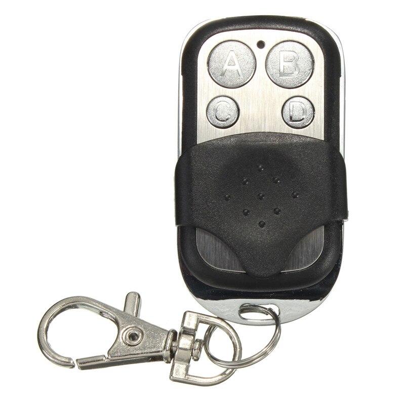 Garage électrique porte de Garage télécommande clé 433 Mhz 4 boutons copie clonage duplicateur télécommande émetteur commutateur