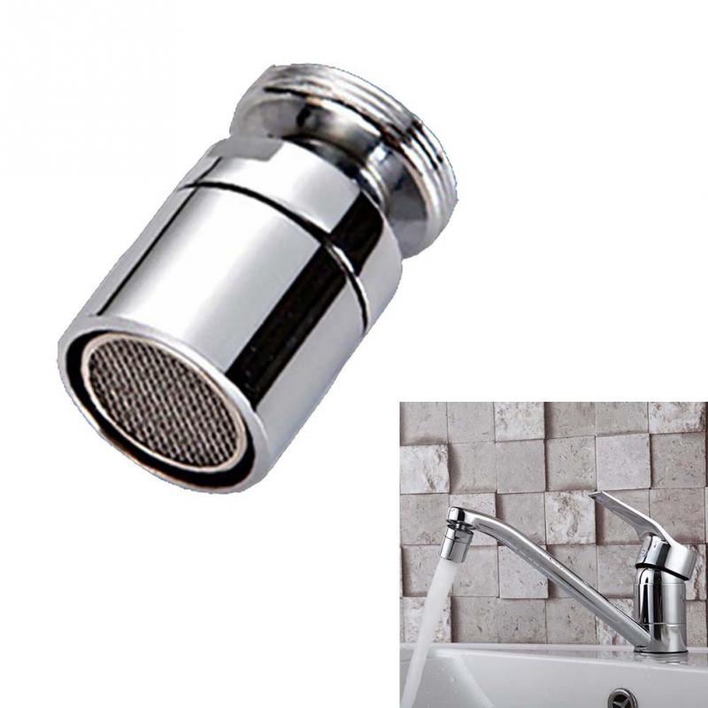 24mm Aerator Fashion Water Saving Aerator Filter Tip For Bathroom Kitchen Connector Tap Chrome Chic Filter Sprayer 360 Degrees