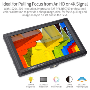 Image 3 - Feelworld FW279S 7 inch 3G SDI 4 K HDMI DSLR Camera Veld Monitor Ultra Heldere 2200nit Full HD 1920x1200 LCD IPS voor Buitenshuis