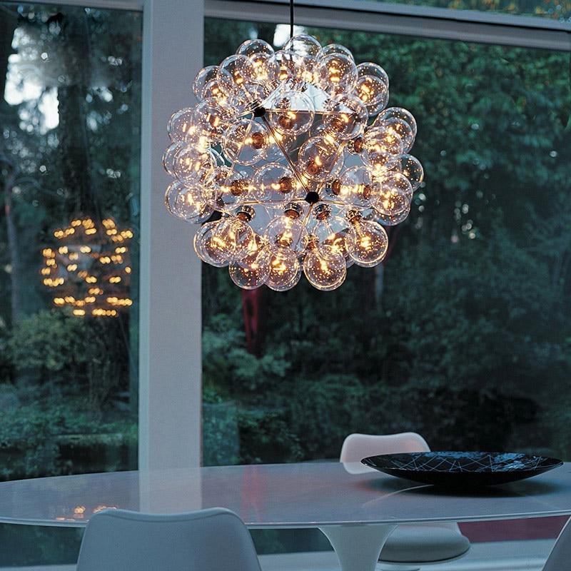Taraxacum Pendant Lamp Warm lights LED G4 20/40/60 Lamps Creative Hanglamp Suspension Dining Fixtures Avize Lighting 110v 220v