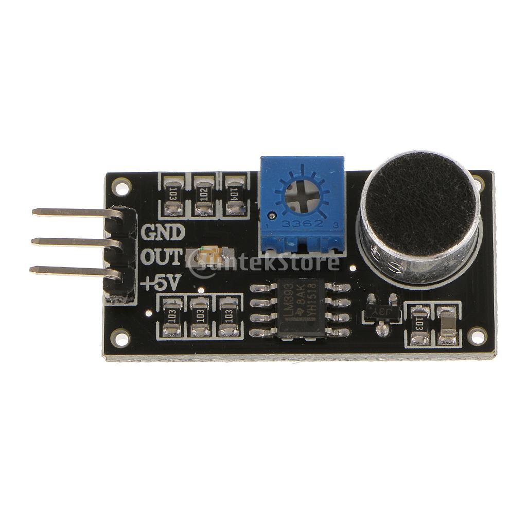 LM393 Sound Detection Detector Voice Sensor Tester Module PCBA For Arduino