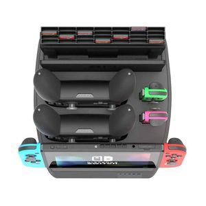 Image 1 - 充電表示任天堂スイッチ充電ドックとゲームホルダースイッチコンソール、喜び Con コントローラ、スイッチプロ C