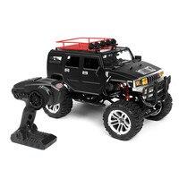 Новый HG P403 RC автомобилей 1/10 2,4G 4WD 20 км/ч черный Цвет Rc автомобиль Рок Гусеничный Off road Truck RTR 40A электронное бесступенчатое 2 в 1 ESC